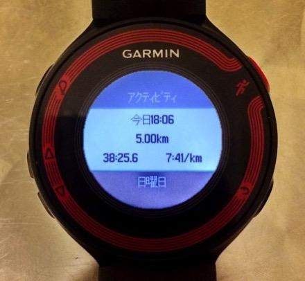 running results
