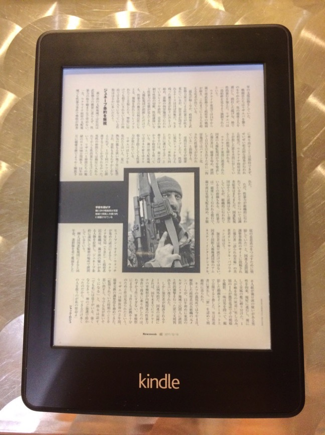 kindle newsweek