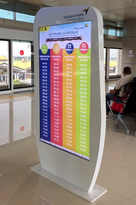 Skytrain timetable 01