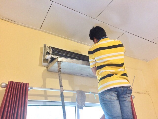 Air conditioner cleaning 01