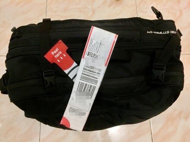 Baggage tag 18