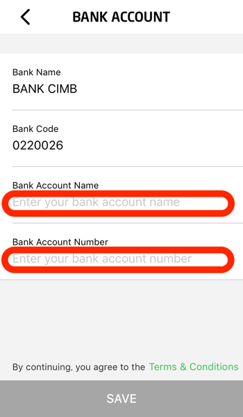 Gopay bank account transfer 06