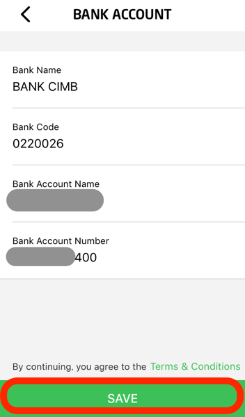 Gopay bank account transfer 07