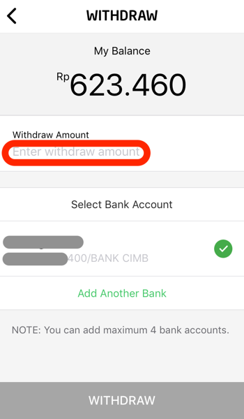 Gopay bank account transfer 08