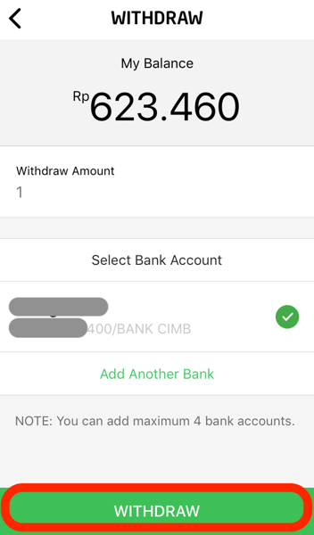 Gopay bank account transfer 09