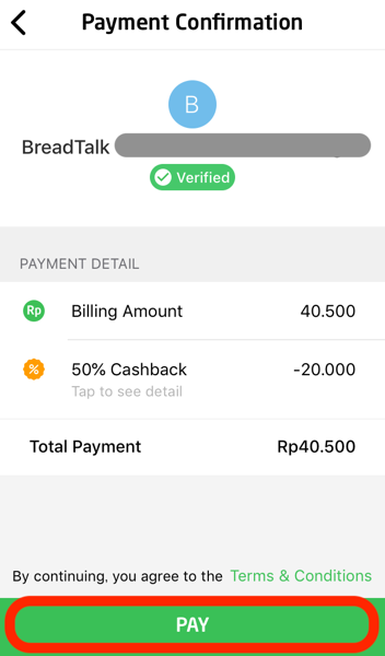 Gopay payment 04