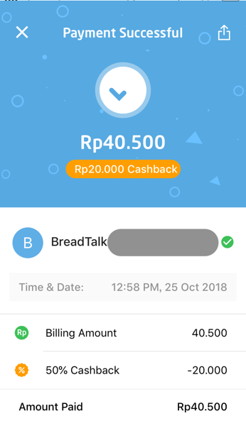 Gopay payment 06