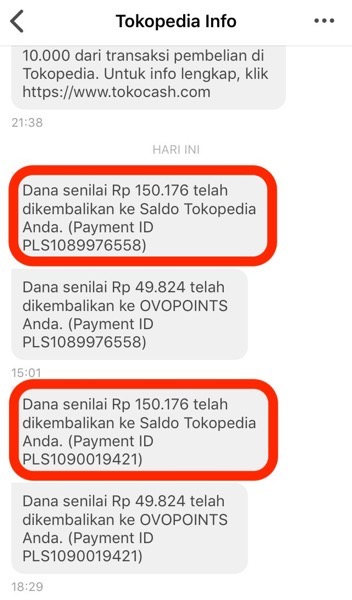 Tokopedia refund 01