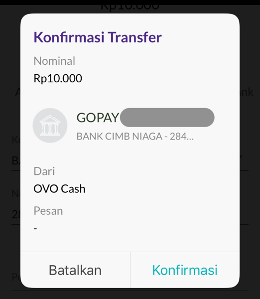 Top up go pay 09
